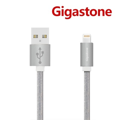 2入組 (1M+2M)】Gigastone Apple Lightning認證傳輸充電線