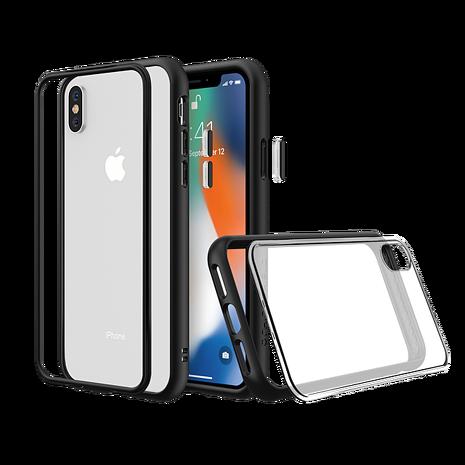 犀牛盾 iPhone XS Max MOD NX 邊框透殼-黑