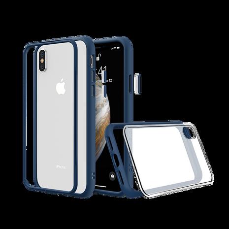 犀牛盾 iPhone XS Max MOD NX 邊框透殼-藍