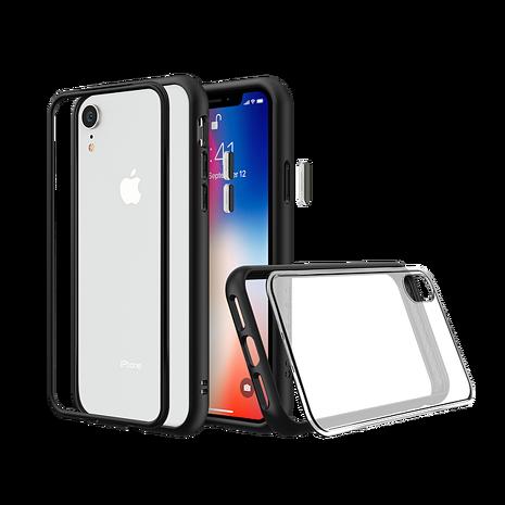 犀牛盾 iPhone XR MOD NX 邊框透殼 - 黑