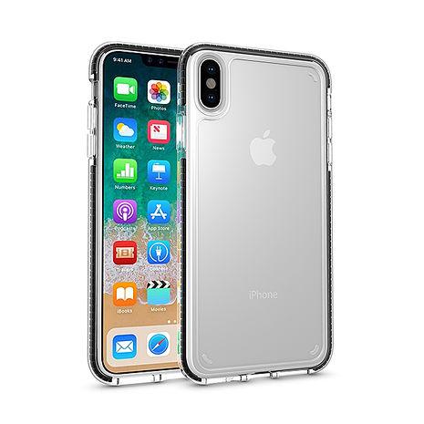 JTLengnd iPhone XR 終極三料抗震保護套-黑