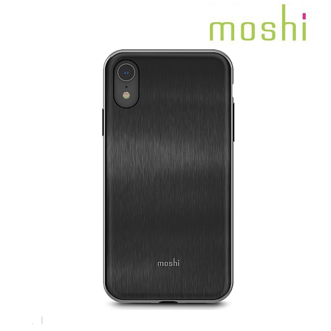 Moshi iPhone XR iGlaze 經典保護背殼-黑