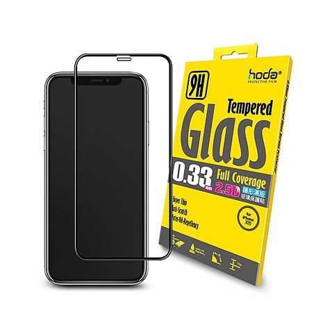 HODA iPhone XR 滿版玻璃保護貼 (iPhone11可適用)