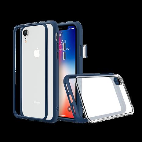 犀牛盾 iPhone XR MOD NX 邊框透殼-藍