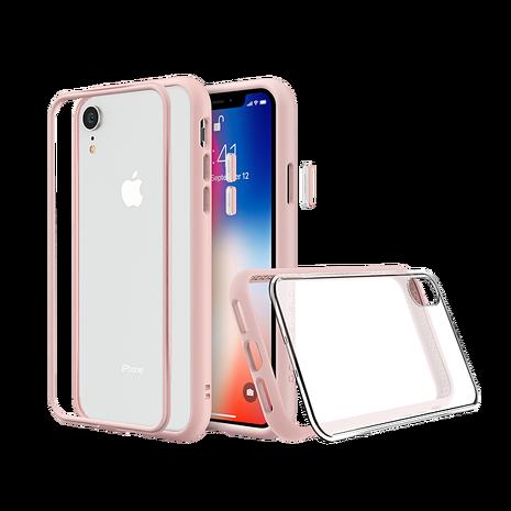 犀牛盾 iPhone XR MOD NX 邊框透殼-粉