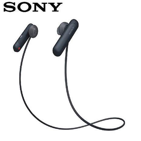 SONY WI-SP500 無線藍牙運動耳機-黑 (台灣索尼)