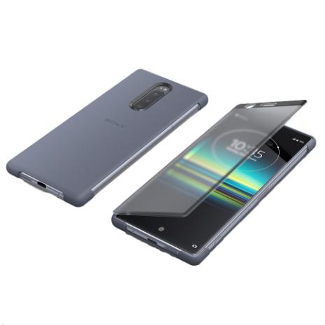 SONY Xperia 1 觸控式保護皮套SCTI30-灰(專屬)