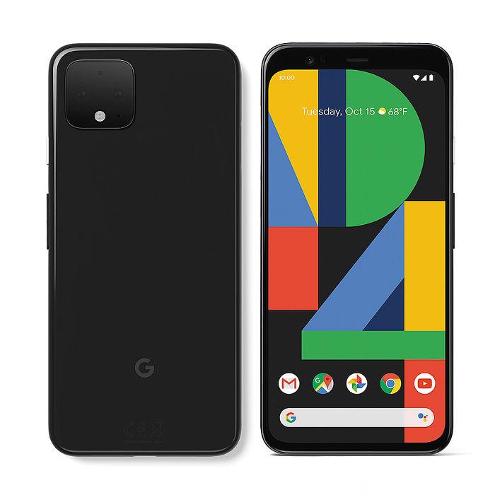 【充電保護套組】Google Pixel 4 XL 6.3吋智慧手機(6G/64G)-純粹黑