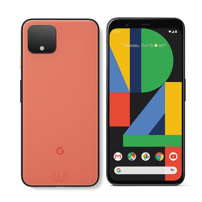 【耳機保護殼組】Google Pixel 4 5.7吋智慧手機(6G/64G)-如此橘