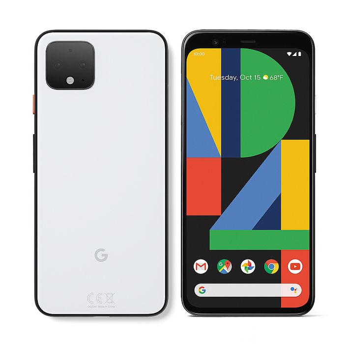 【充電保護套組】Google Pixel 4 XL 6.3吋智慧手機(6G/128G)-就是白