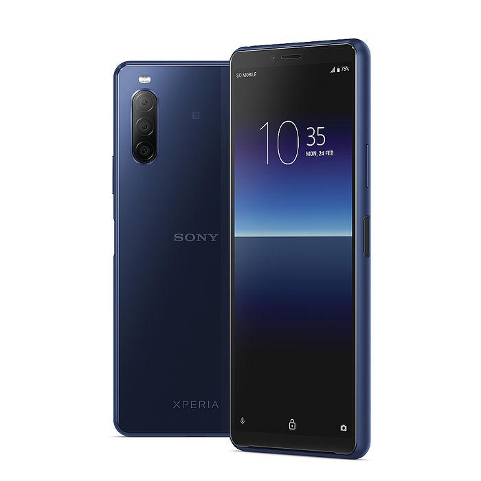 Sony Xperia 10 II 6吋三鏡頭手機 4G/128G-莓果籃【加送3好禮】