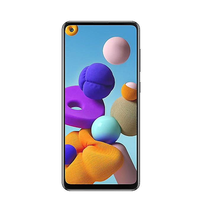 【皮套傳輸線】Samsung Galaxy A21s 4G/64G(幻石白)(4G)6.5吋四鏡頭智慧機