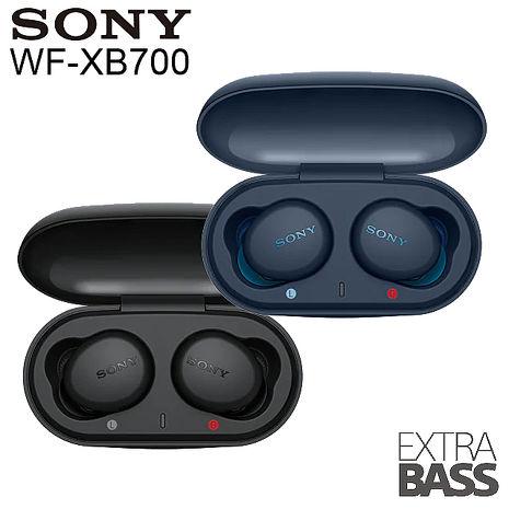 SONY WF-XB700 真無線耳機-藍 (台灣公司貨)