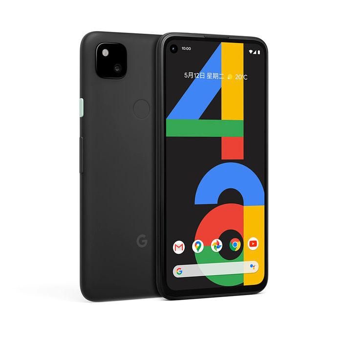 Google Pixel 4a 6G/128G 5.81吋智慧手機 (4G) 純粹黑【保貼保殼加購組】