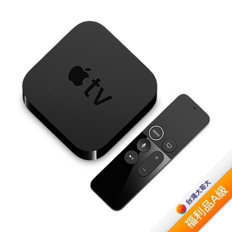 【拆封福利品A級】Apple TV HD 32GB-(黑)(無保固)