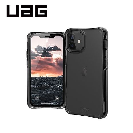 iPhone 12 mini UAG耐衝擊全透式保護殼-透明
