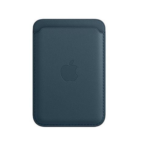 Apple MagSafe 皮革卡套-波羅的海藍色