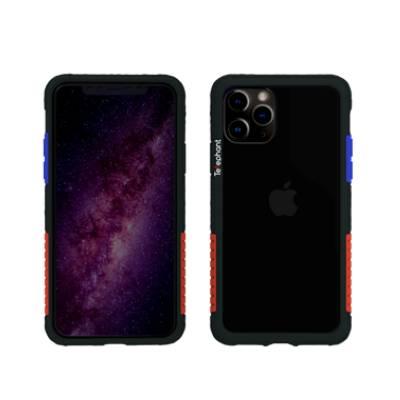 iPhone 12/12 Pro太樂芬抗污防摔邊框透殼-OG黑(亞瑟)(活動)