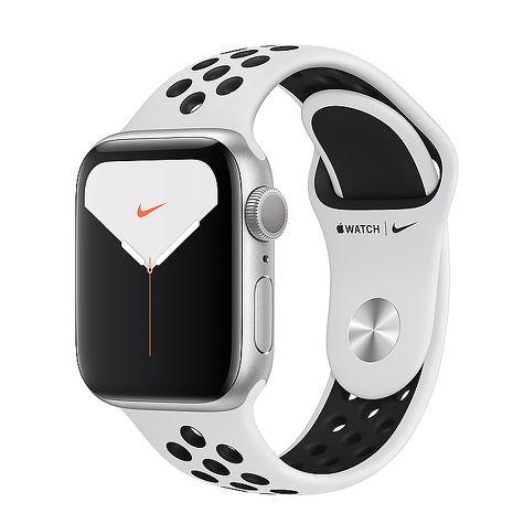 【快速出貨】Apple Watch Nike+SE GPS版-銀色鋁金屬錶殼配白色 Nike 運動錶帶_44mm MYYH2TA/A