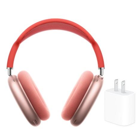 【含原廠20W充電頭】Apple原廠Airpods Max無線耳罩式藍牙耳機 MGYM3TA/A 粉紅