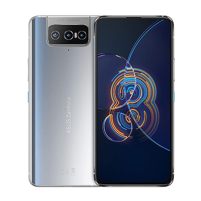 【快速出貨】Asus ZenFone 8 Flip ZS672KS 8G/256G(銀)(5G)6.67吋雙卡旗艦手機【保貼保護套組】