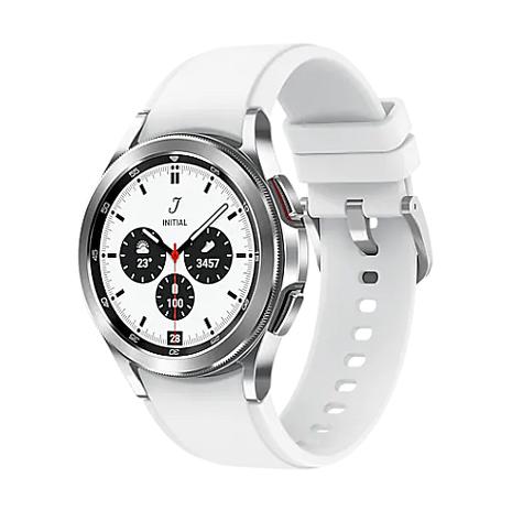 【快速出貨】Samsung Galaxy Watch 4 Classic 藍牙版 42mm Sliver 鈦灰銀