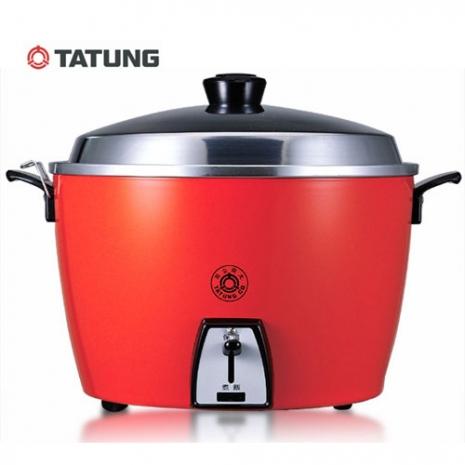 TATUNG大同 10人份電鍋(不鏽鋼內鍋)TAC-10L-SR(紅)