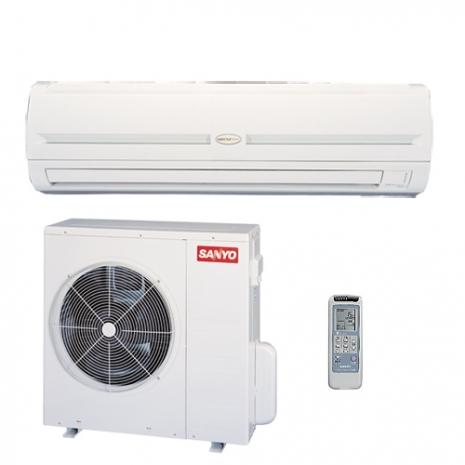 三洋13-15坪用R410定頻分離式冷氣SAP-C80A/SAP-E80A