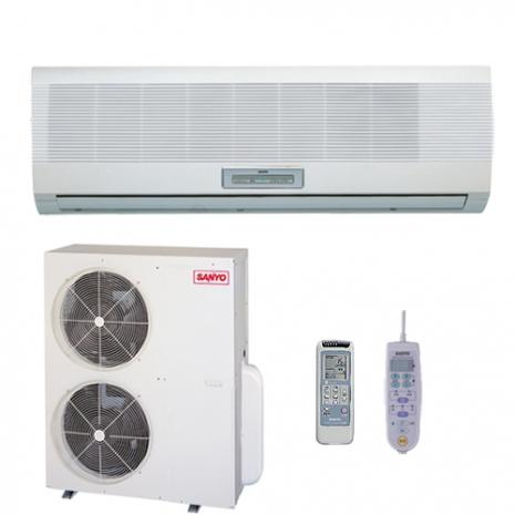 三洋16-18坪用R410定頻分離式冷氣SAP-C100A/SAP-E100A