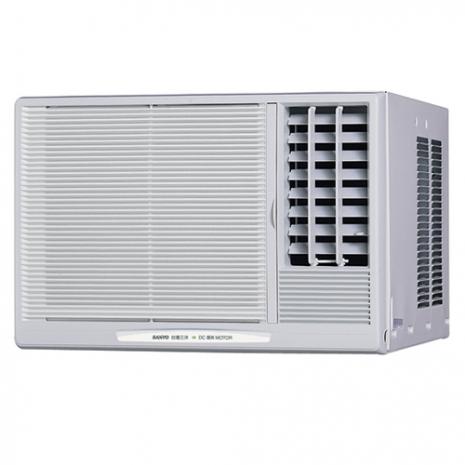 三洋3-5坪用R410a定頻【110V】窗型冷氣SA-R221B(右吹)