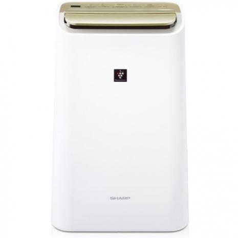 夏普10L自動除菌離子溫濕感應清淨&除濕兩用機DW-E10FT
