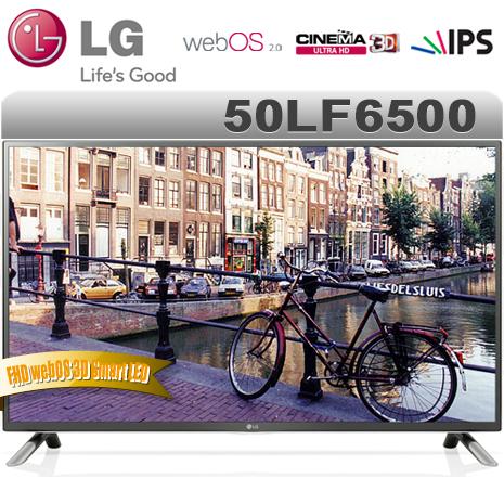 LG樂金 50型FHD webOS 3D Smart LED液晶電視(50LF6500)