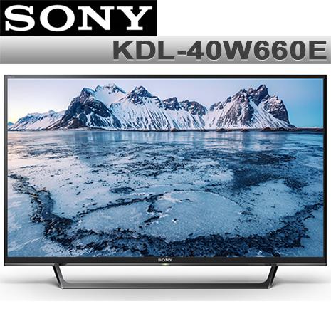 SONY索尼 40吋FHD 聯網液晶電視KDL-40W660E