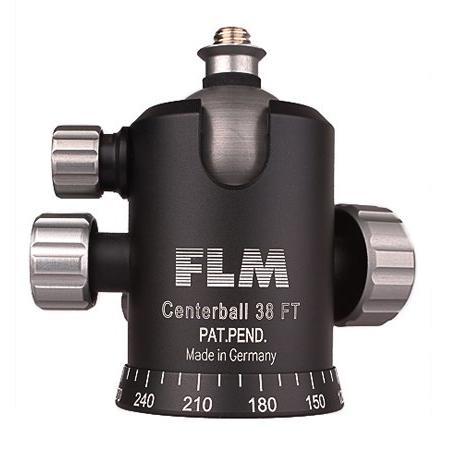 FLM CB-38FT 球型雲台 含平板 德國頂級工藝品 超強穩定性 含稅免運費