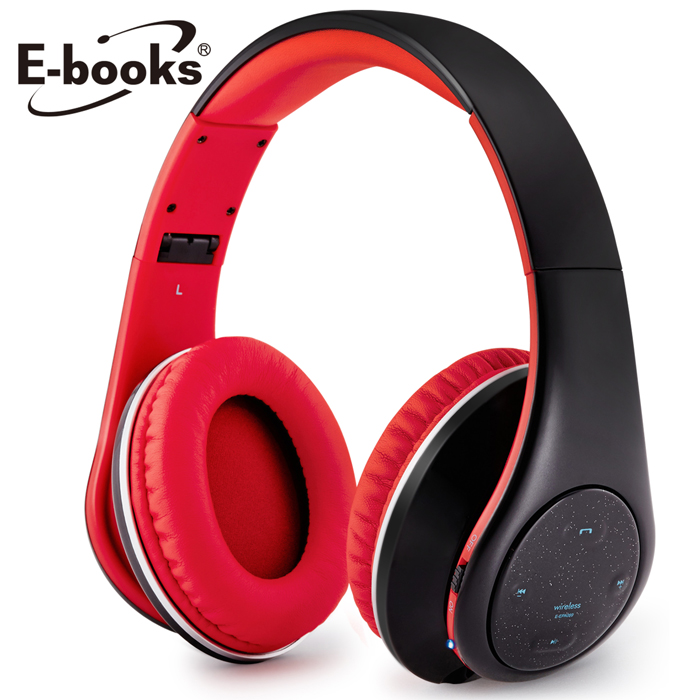 E-books S12 藍芽無線摺疊耳機麥克風(活動)