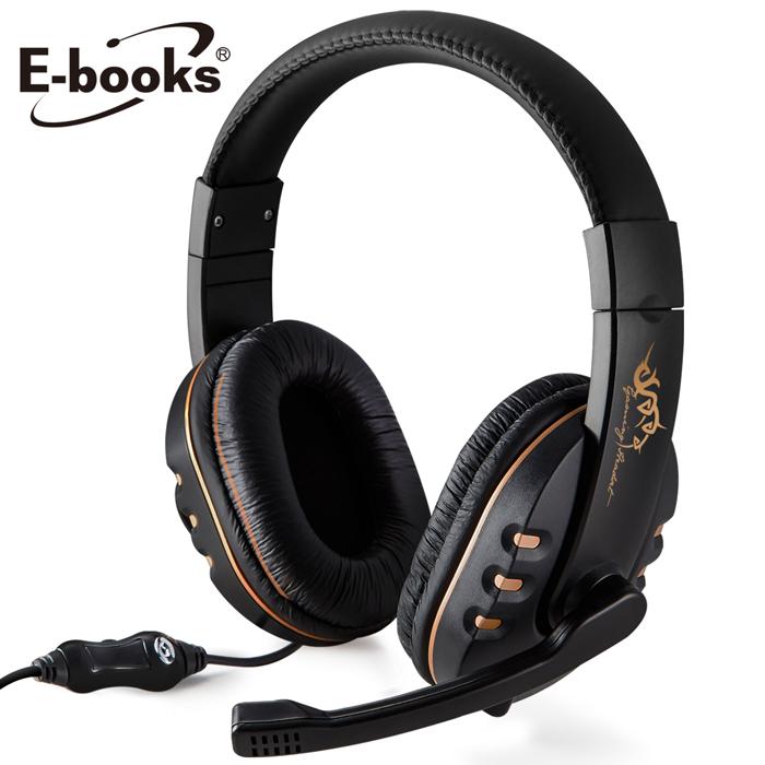 E-books S21 電競頭戴耳機麥克風(活動)