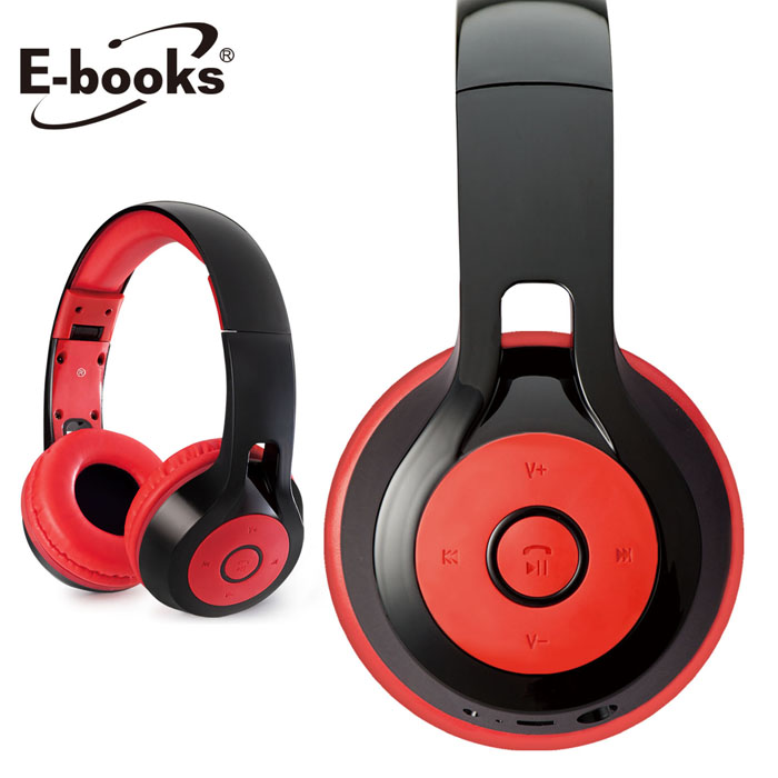 E-books S36 藍牙4.1無線折疊耳機麥克風(活動)