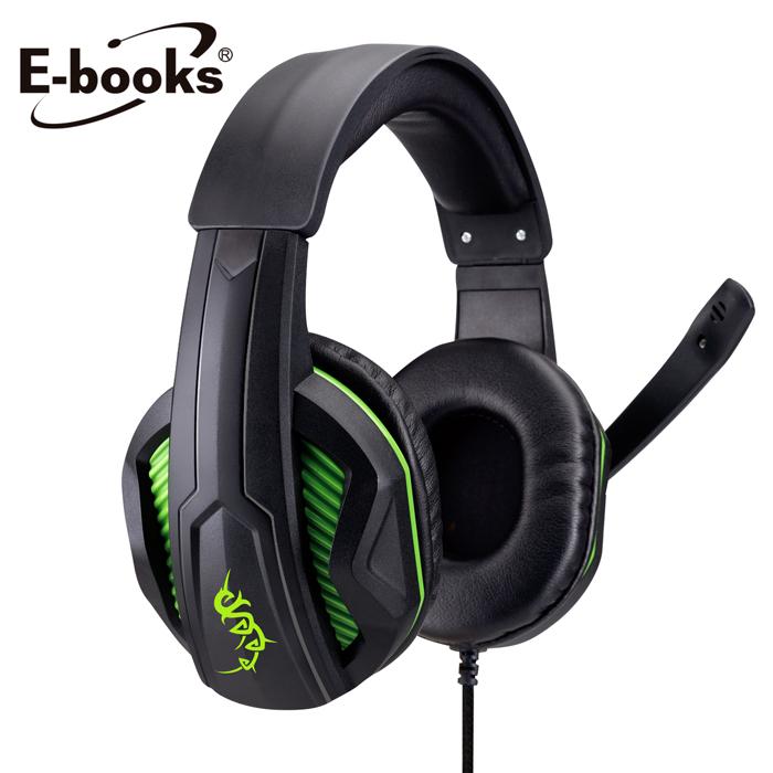 E-books S43 電競頭戴耳機麥克風(活動)