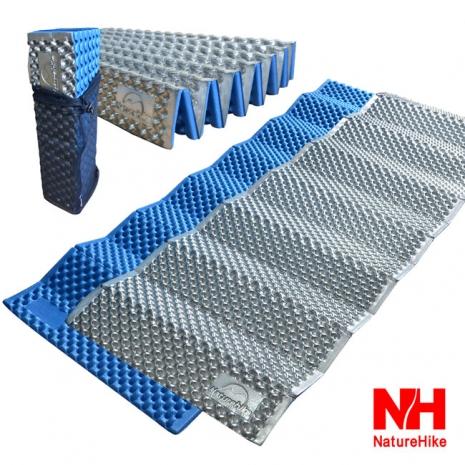 Naturehike  耐壓蛋巢型折疊防潮墊/睡墊(藍色)