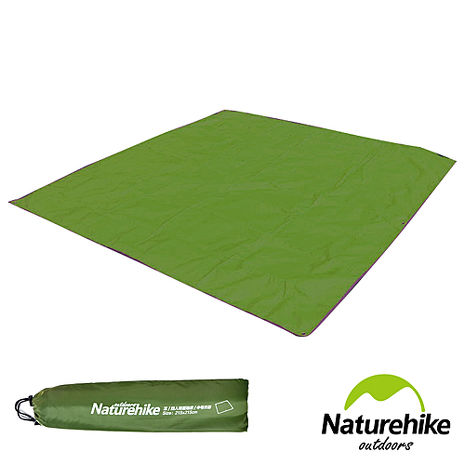 Naturehike 戶外6孔帳篷地席 天幕帳布 M號(3.4人) 軍綠