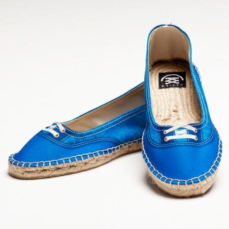 【Bsided】Groover Chic Blue Ballet仿真時尚設計印刷休閒鞋(女)41