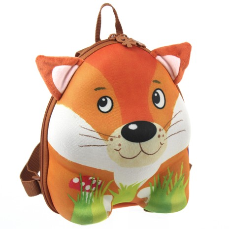 德國okiedog 兒童3D動物造型後背包 狐狸