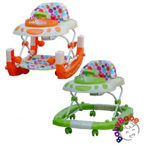 【Babybabe】多功能汽車嬰幼兒學步車