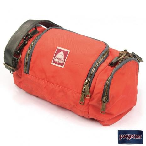 JanSport 復刻版背包(SWINGER)-橘紅