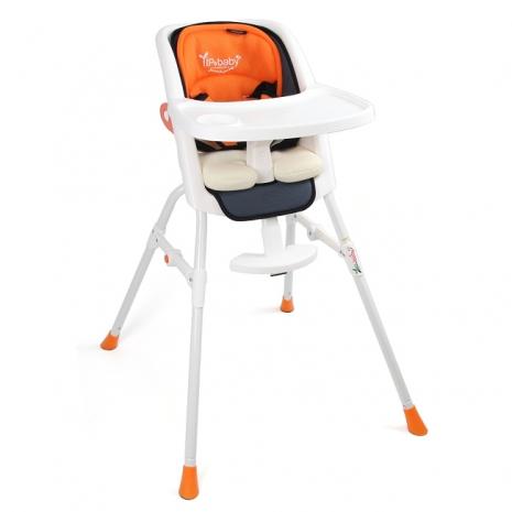 Yip baby 第二代多功能高腳餐椅-橘