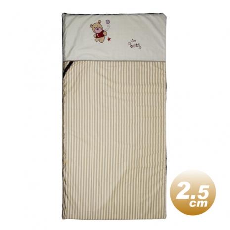 Yip Baby KUMA 3M嬰幼兒乳膠床墊(2.5公分厚)