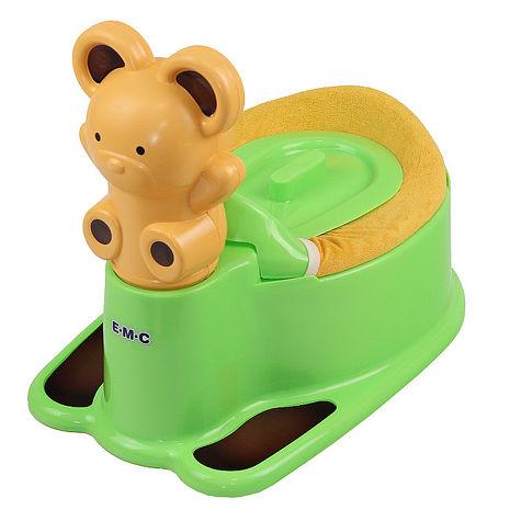 EMC 小熊造型寶貝學習便器 (淡綠)