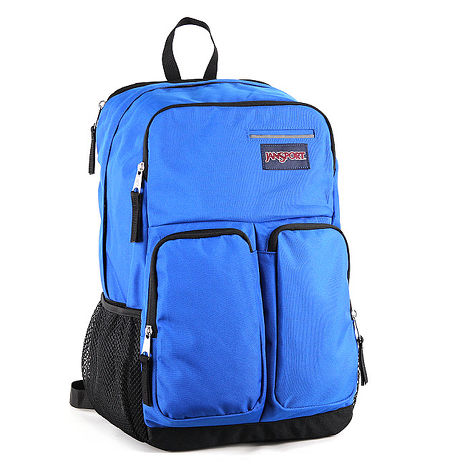 JanSport DIGITAL背包(SPLICE)-風暴藍