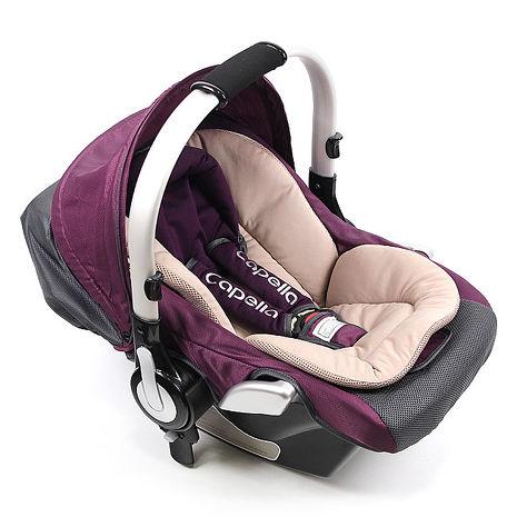 Capella LAON 專用提籃汽座-紫