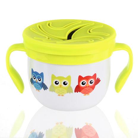 美國 Eco Vessel 兒童不鏽鋼點心碗-貓頭鷹白-居家日用.傢俱寢具-myfone購物